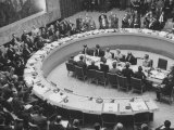 UN Security Council in Session  Siezure of Suez