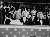 Pres Richard M Nixon and Wife Patricia Attending His Inaugural Ball