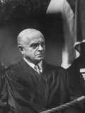 Supreme Court Justice Felix Frankfurter Attending Commencement Ceremony at William and Mary College