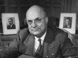Portrait of Industrialist Henry J Kaiser