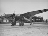 Lysander Fighter Being Warmed Up at the Baldonnel Airport