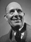 Smiling Portrait of Inventor Charles F Kettering at Life Conference