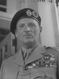 Gen Bernard L Montgomery of Great Britain Visiting the Us