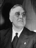 Portrait of President Franklin D Roosevelt