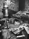 Filthy  Cluttered Bedroom in Alleged Mass Murderer Ed Gein's House