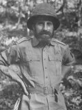 Eccentric British Commander Charles Orde Wingate  Leader of the Guerilla Unit Wingate&#39;s Chindits