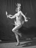 Nude Burlesque Dancer from &quot;Folies Bergere&quot;