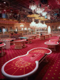 Interior of Trump Taj Mahal Casino