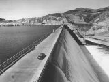 Top of Grand Coulee Dam