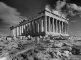 The Ruins of the Ancient Parthenon
