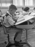 Modern School Desks  Combination Chair and Desk