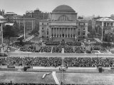 Dwight D Eisenhower's Inauguration as President of Columbia University
