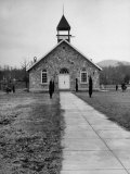Exterior of Rural Baptist Church