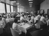 An Inexspensive Lunch  for Workers in a Transistor Factory