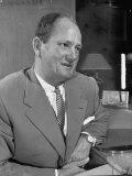 Manufacturer Robert P Mcculloch Sitting Behind His Desk