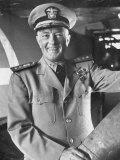 Adm Richard E Byrd in Uniform  Smiling