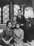 Richard M Nixon and His Family at their Home