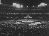 Appearance of Pope Paul VI for Roman Catholic Mass in New York Yankee Stadium