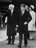 Pres John F Kennedy and Mrs John F Kennedy