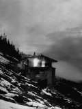 "Adolf Hitler's Burning Mountain House  the ""Eagle's Nest"""