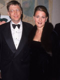 Microsoft Ceo Bill Gates W Wife Melinda at for All Kids Foundation