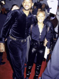 "Married Actors Will Smith and Jada Pinkett at Film Premiere of ""Metro"""