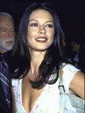 "Actress Catherine Zeta-Jones at Film Premiere of ""Double Jeopardy"""