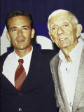 Actor Luke Perry and Producer Aaron Spelling