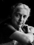 Portrait of Mme Vijayalakshmi Pandit