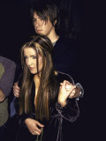 Lisa Marie Presley and Boyfriend  Musician John Oszajca