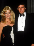Real Estate Developer Donald Trump with Wife Ivana
