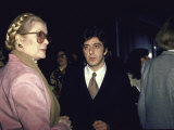 Princess Grace and Actor Al Pacino