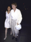 Actress Mia Farrow and Daughter Soon Yi Previn
