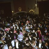 Revelers at New Year's Eve Celebration at Palace Hotel
