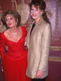 Newswoman Barbara Walters with Her Daughter  Jackie Gruber
