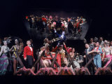 "Stage Production of the Musical ""Cabaret"" Starring Joel Gray"