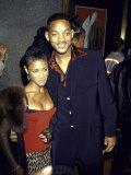 Married Actors Jada Pinkett and Will Smith at Mtv Music Video Awards