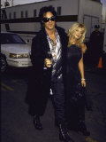 Motley Crue Member Nikki Sixx and Wife  Actress Donna D&#39;Errico