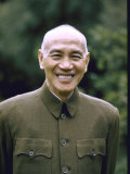 Smiling Portrait of General Chiang Kai-Shek