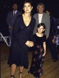 Actress Demi Moore and Daughter  Rumer at Bloomingdales