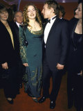 Actress Kate Winslet and Director Jim Threapleton at Academy Awards