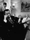 Minority Leader Lyndon B Johnson on the Telephone