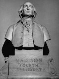 Statue of Of James Madison in the State Captiol Rotunda