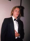 Actor River Phoenix in a Tuxedo
