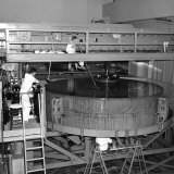 Men Polishing the 200-Inch Mirror for the Hale Telescope