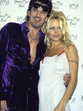 Musician Tommy Lee and Wife  Actress Pamela Anderson