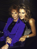 Singers Reba Mcentire and Celine Dion
