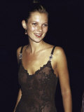 Model Kate Moss at the Michael Awards