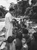 King Norodom Sihanouk of Cambodia Speaking to People