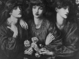Painting of a Trio of Women by Dante Gabriel Rossetti